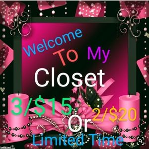 💋💋Closet Clear Out 👑⚜️👑⚜️